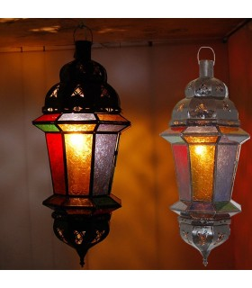 Double Buttercup Lamp Setting - Multicolor - NEW