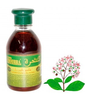 Champú Natural - Henna - 250 ml - Brillo y Salud - Al Hourra