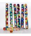 Pen mirrors - multiple colors - 12 cm - pictures