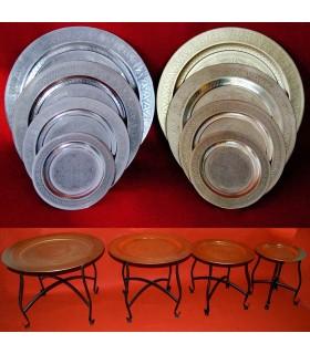 Tabelle aufgezeichnet Arabisch - abnehmbar - 2 - Ton - 4 Größen