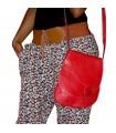 Bag Handmade Leather - colors - 3 pockets