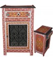 Forging Andalusian night table hand - painted various colors