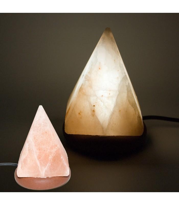 Mini Lámpara USB Sal Piramide del Himalaya - Color Naranja