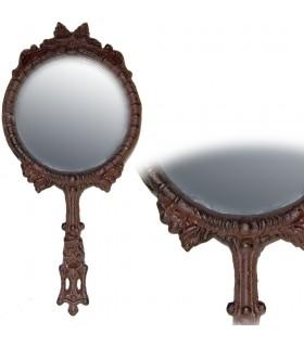 Elenco Espelho Mão de Ferro - Alívio Decorado - 26 cm x 12 cm