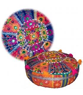 Coussin Yoga - Artisanat - Décoré Indien - Comprend farcies cm -
