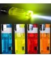 Queimadores a gás XXL - lanterna - recarregável - 11,5 cm