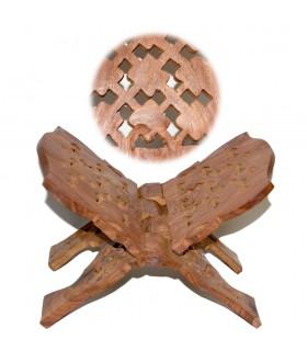 Portalibros Sagrado Madera Roja Calada - Plegable - Estrellas