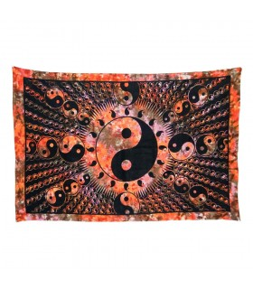 Tessuto cotone-India-bambino Ying Yang-Quesería - 140 x 210 cm