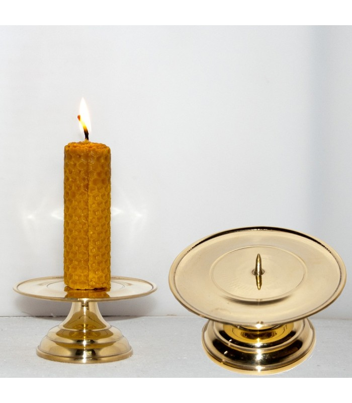 Bronze Candle - Click - Handcrafted Spanish - 9 x 5 cm