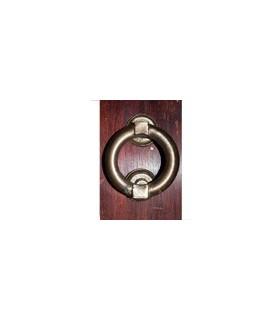 Chamador Redondo - Horseshoe - Cast Bronze-Espanhol