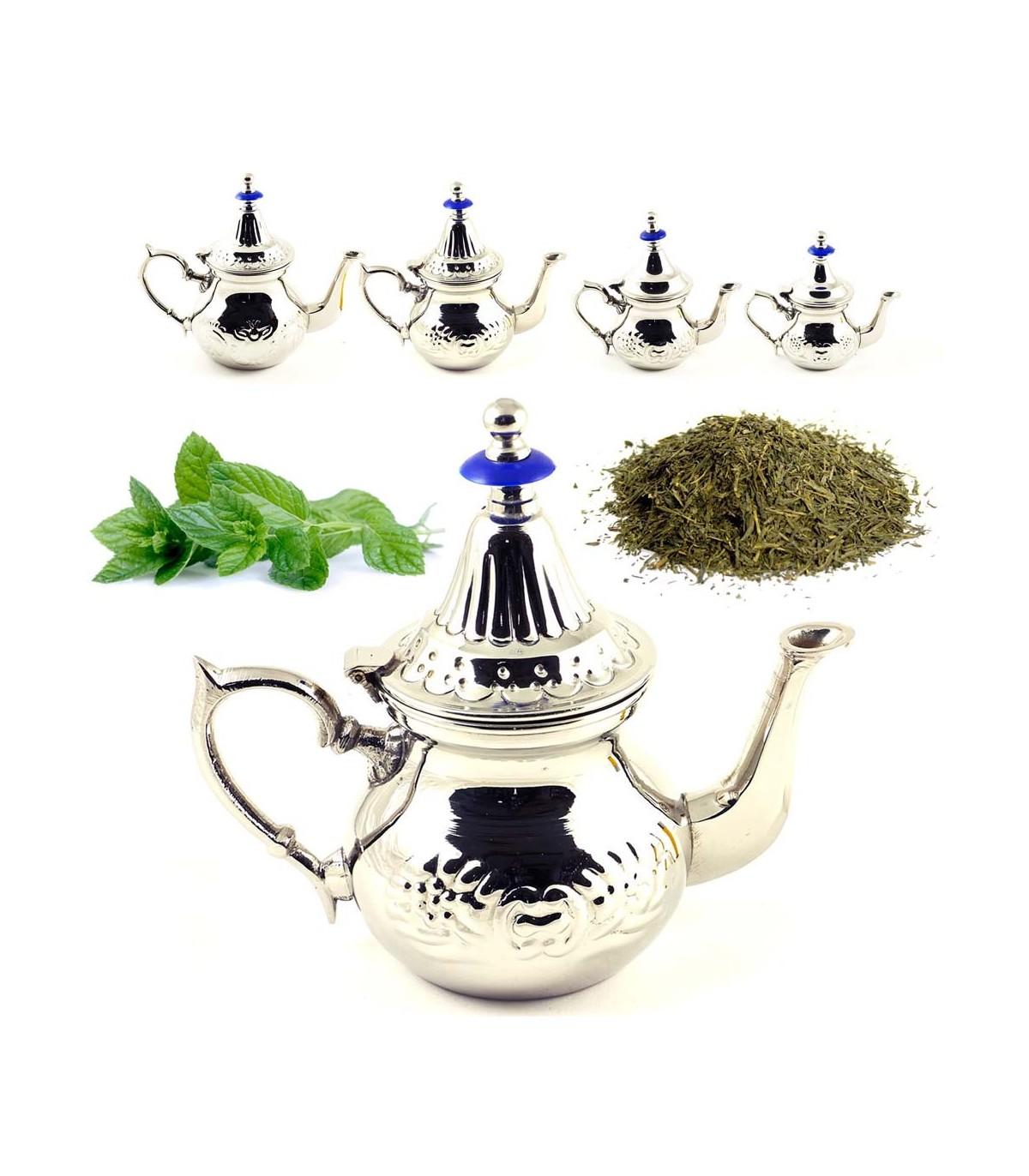 Arab Teapot INOX - Moroccan Style Teapot - Steel - Great Quality