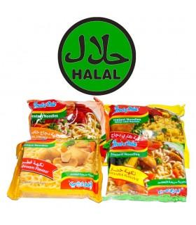 Espaguete instantâneo - Vários Sabores-4-Halal Sabores
