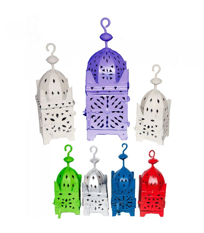Iron Lantern Square - 3 Sizes - Custom Colors
