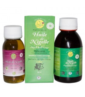 Natural oil of Ajenuz (Jabba Sauda) 60 ml or 120 ml