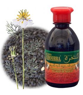 Shampoo Natural cominho preto - 250 ml - Swada Jabba - Nigella Sativa