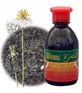 Shampooing naturel nigelle - 250 ml - Jabba Swada - Nigella Sativa