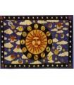 Cotton fabric India-Sun Zodiac -135 x 210 cm