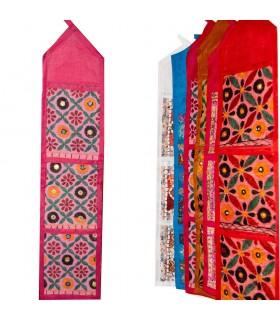 Tapete Guarda Cartas - Artesanal - 70 x 17 cm- Varios Colores