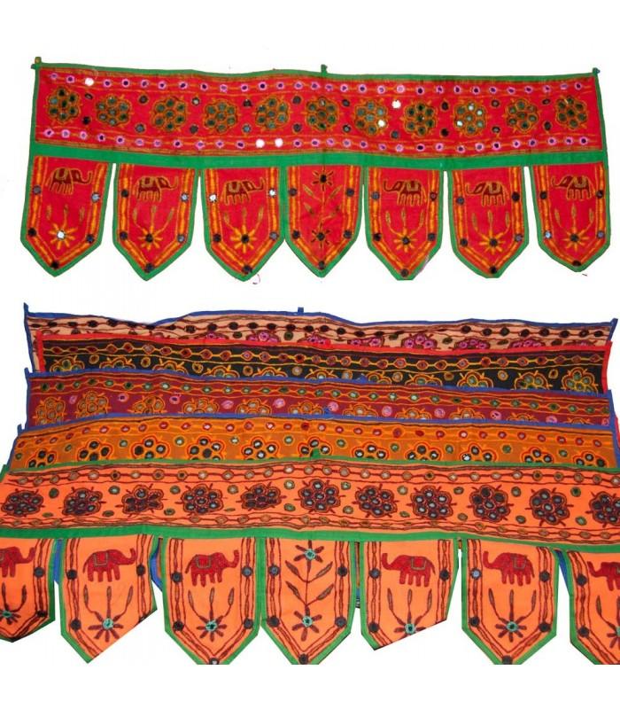 Tapete decoraci n flecos artesanal 95 x 35 cm varios for Tapetes orientales