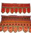 Mat decoration fringes - artisan - 95 x 35 cm-various colors