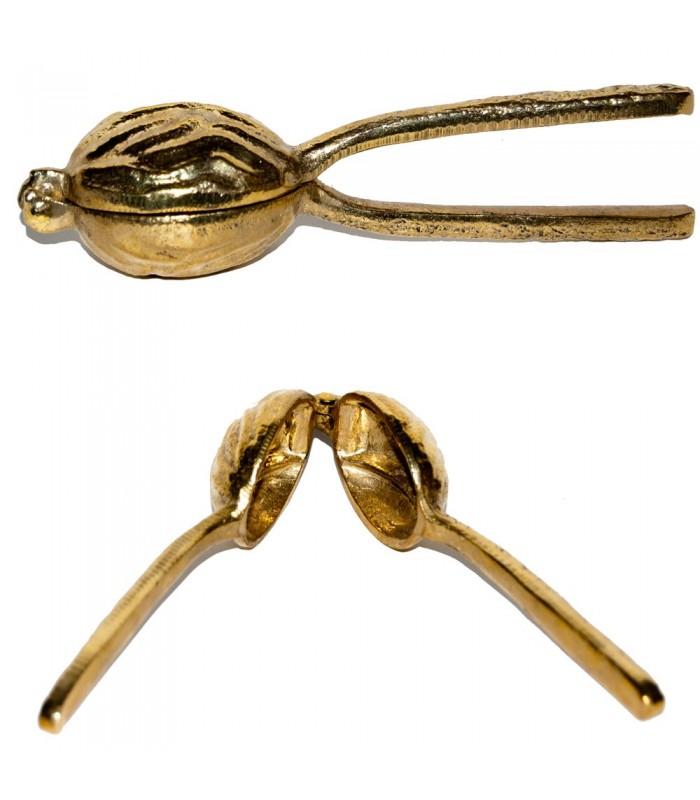 Engraved Bronze Nutcracker - Foundry - Handcrafted Spanish-15 cm