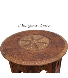 Removable craft India - 3 sizes - wooden table