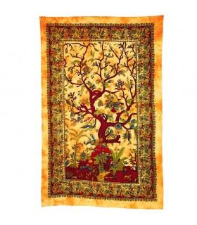 Ткань хлопок Индия дерево Vida-Artesana - 210 x 240 см
