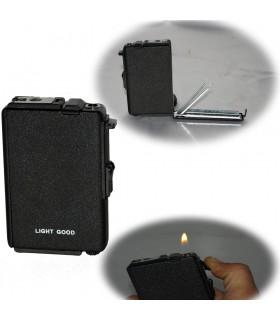 Zigarettenetui Feuerzeug - 10 x 6 cm