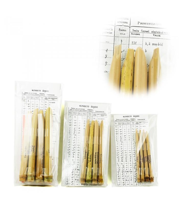Kalam Arabic Script Pack 4 - Bamboo - 3 Sizes -3 Graduations