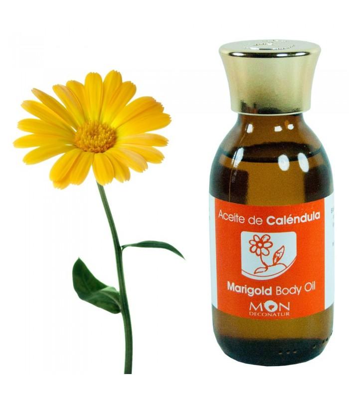 Aceite de Caléndula - 100 % Natural - 125 ml - Mon Deconatur