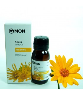 Aceite de Arnica - 100 % Natural - 60 ml - Mon Deconatur