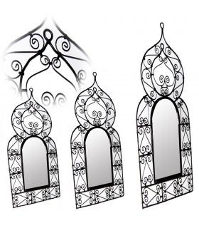 Telaio in fucina - 3 dimensioni - specchio design arabo