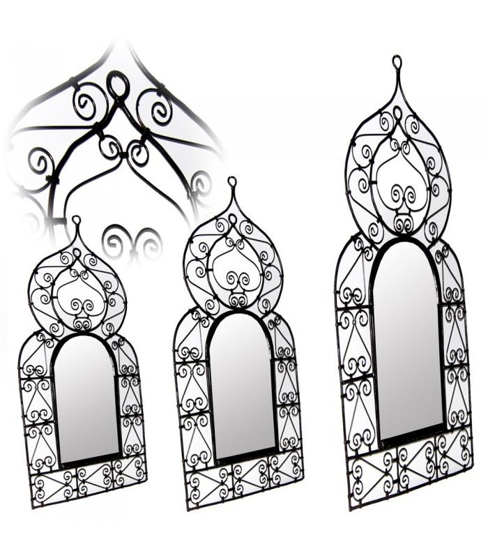 Marco de Espejo Realizado en Forja - 3 Tamaños - Diseño Arabe