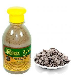 Shampoo Natural - Ghassoul - 250 ml - Purifica cabelo