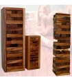 Puzzle wooden tower - Jenga - box wood transportation - 2 sizes