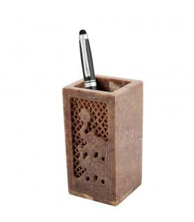 Onice penna - fortuna elefante - mosaico pescaggio - 10 cm