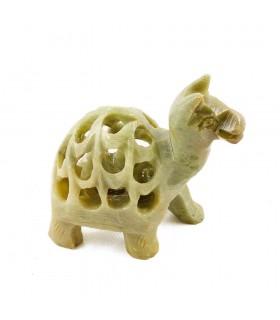 Kamel durchbrochene Onyx - Miniatur - Handarbeit - 5 cm