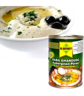 Baba Ghanoush - Eggplant and Tahini paste - 370 g - Recommended