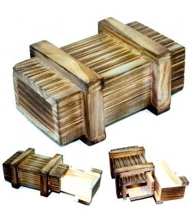 Magic Box - Compartimento secreto - Madeira