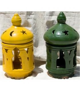 Lámpara Aladino Grande Esmaltado Para Bombilla (Viene Montada)