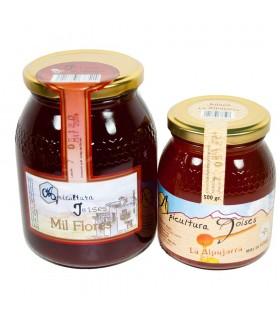 Miele mille fiori dell'Alpujarra - 1 ° qualità - 2 taglie