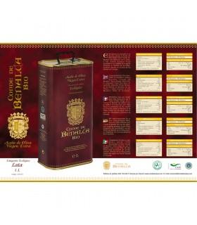 Aceite de Oliva Virgen Extra Ecológico -5 L- Conde de Benalua