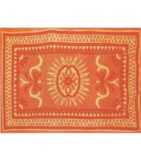 Soleil de tissu de coton en Inde-of-Life Artisanat-210 x 140 cm