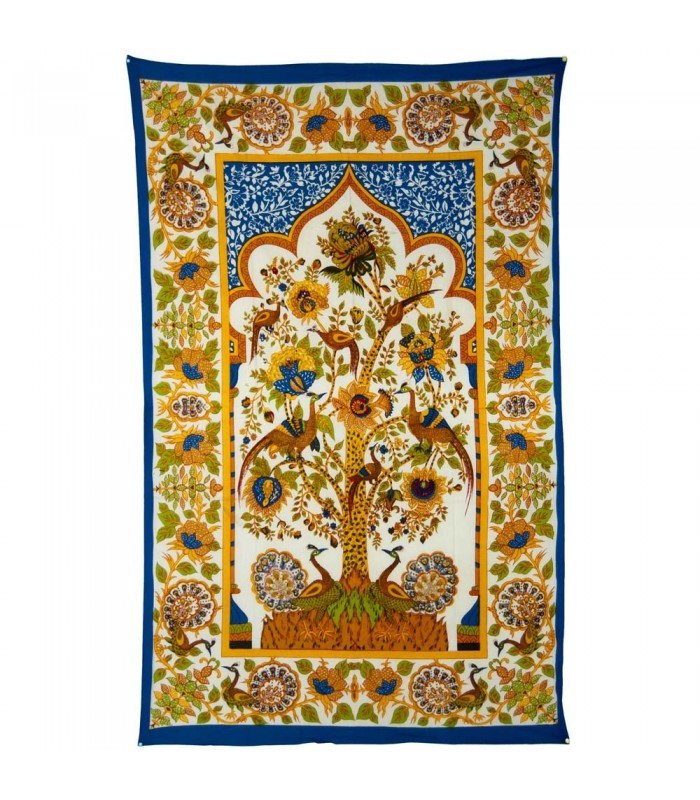 India-Cotton Fabric Tree of Life-Crafts-210 x 140 cm