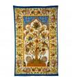 Tela Algodon India-Arbol de la Vida Marco -Artesana-210 x 140 cm