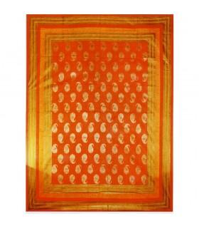 Afrikanische Algodon-Estampado 2 Gewebe - besondere Qualität - 220 x 256 cm