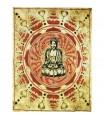 Fabric cotton India - Budha Mosaico-Artesana - 140 x 210 cm