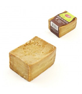 Natürliche Seife Olive und Lorbeer 4 % (Syrien) 200gr - Aleppo