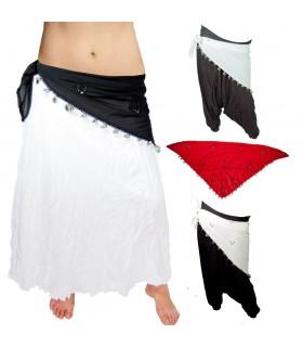 Dança do ventre Lenço - Triângulo - Bright - 140 cm