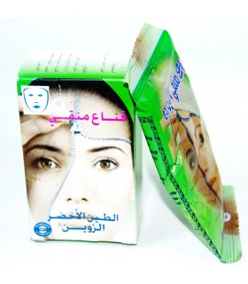 Máscara Purificante - Clay Verde - 100% Natural
